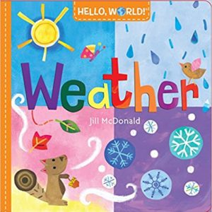 weather board book